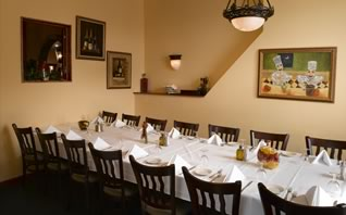 Room for family celebrations at Trattoria San Nicola Paoli